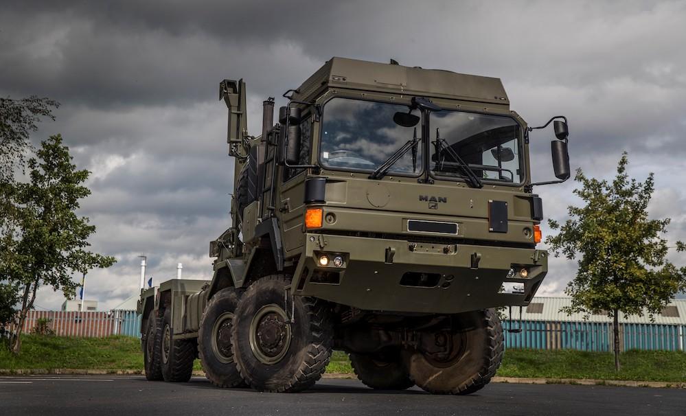 MAN Truck & Bus UK Ltd.'s Mod centre completes conversion of UK MoD MAN HX trucks helping modernise the British Army's logistic vehicles fleet.